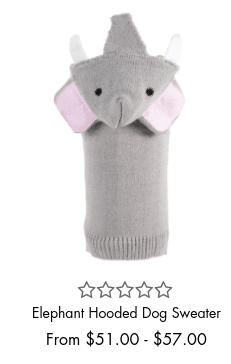 Elephant Hooded Sweater