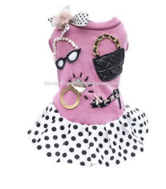 French Chic Dog Dress