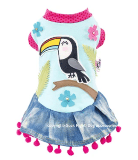 Toucan Dog Dress