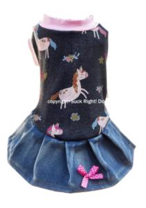 Fairy Horses Dog Dress