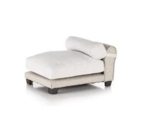 Linen Dog Chaise